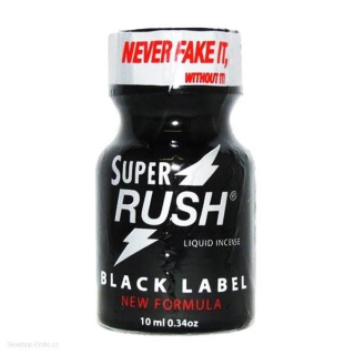Poppers Super Rush Black Label 10ml