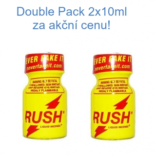 Poppers Rush Action Double Pack 2x10 ml